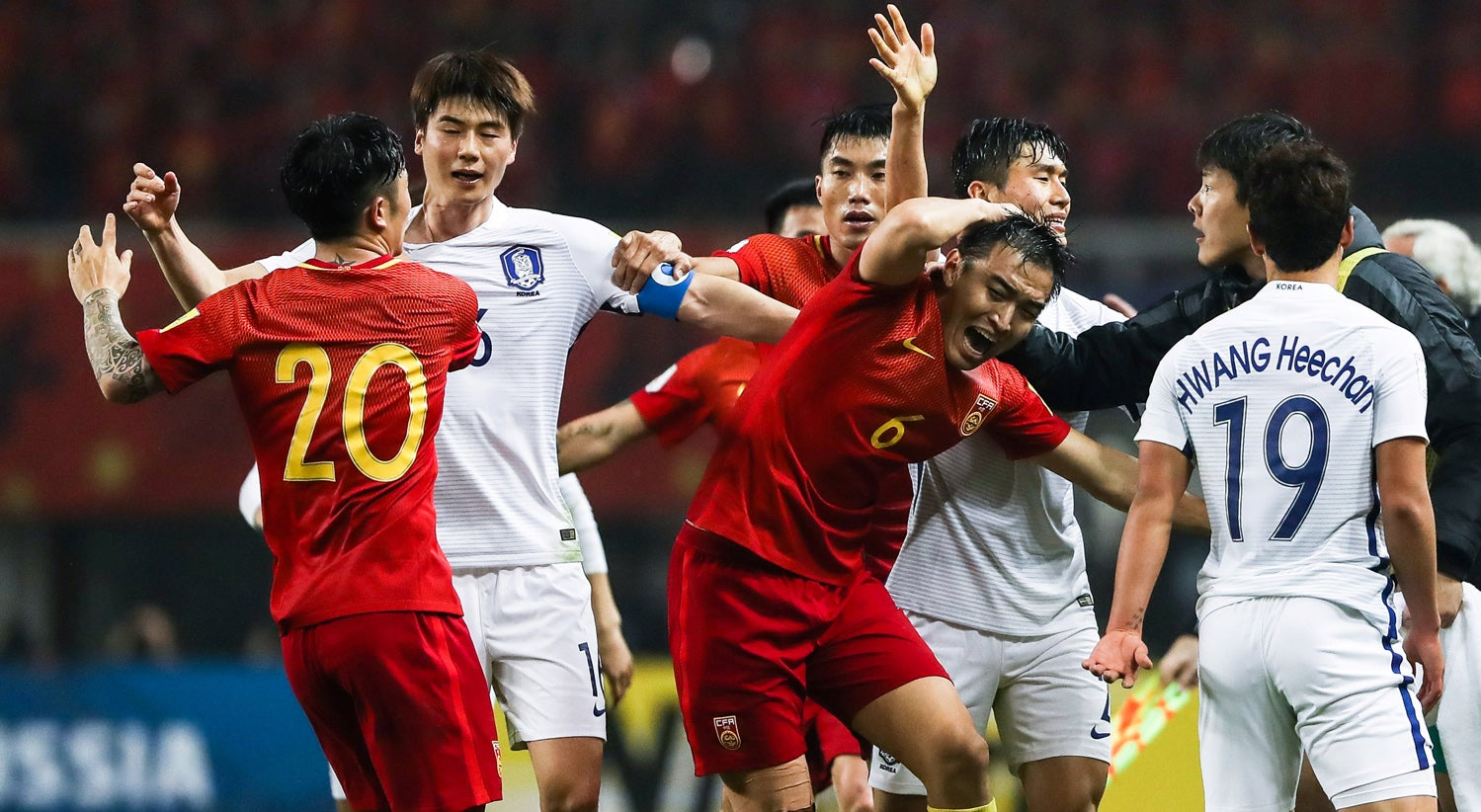 Mundial2018: China vence Coreia do Sul com golo do ex-benfiquista Yu Dabao