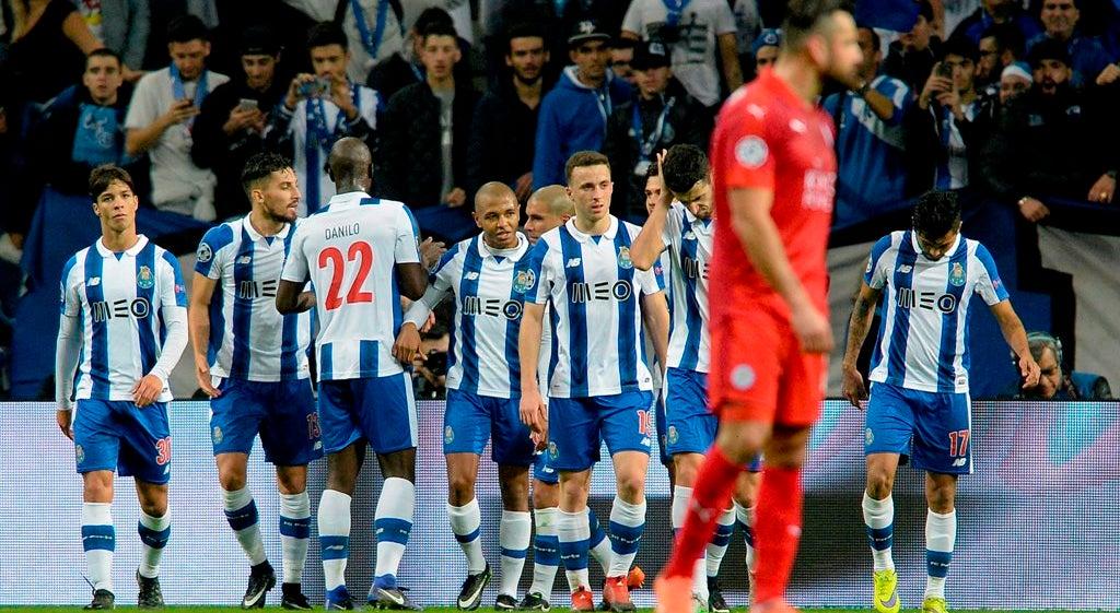 Porto apura-se para oitavos da Champions