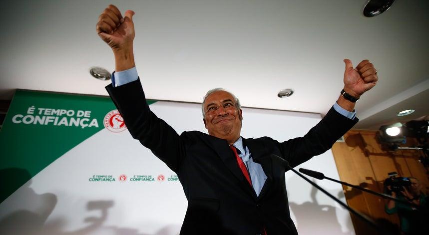 Costa evita escada � esquerda para formar governo