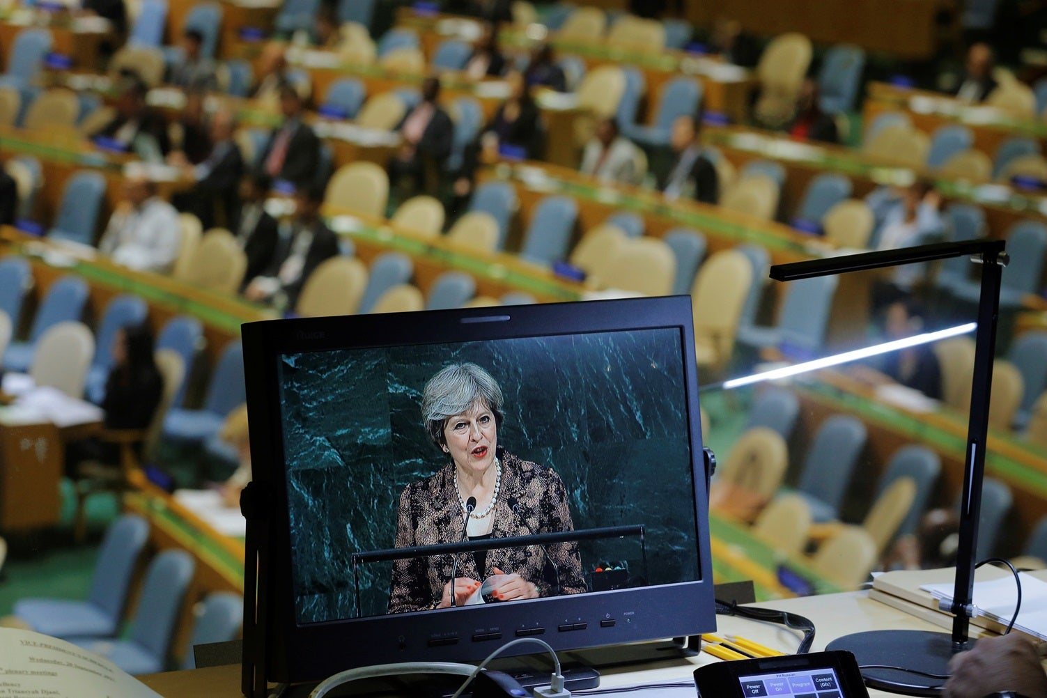 Theresa May: Reino Unido quer ser