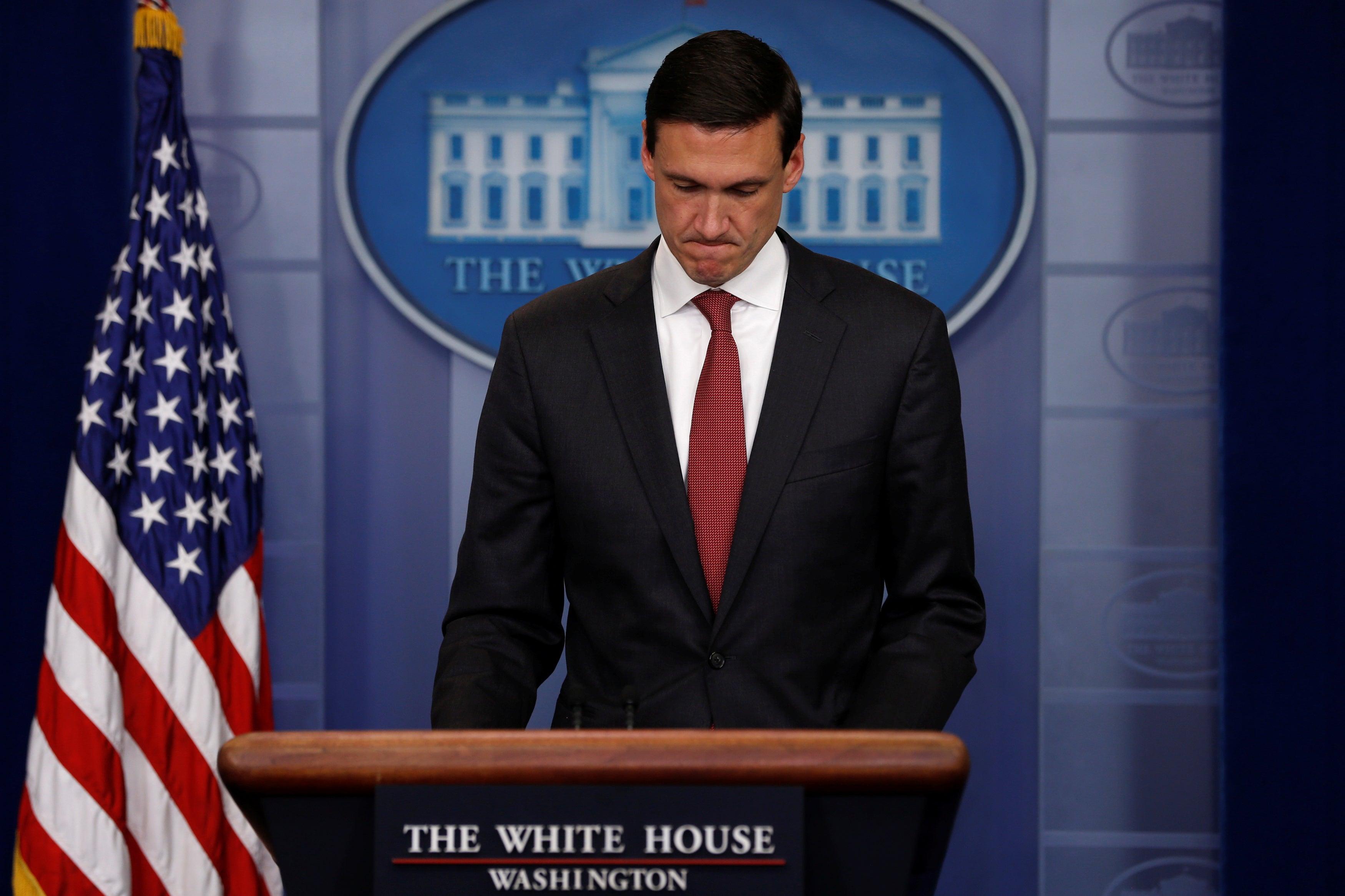 Assessor de Segurança Interna de Donald Trump renuncia a cargo