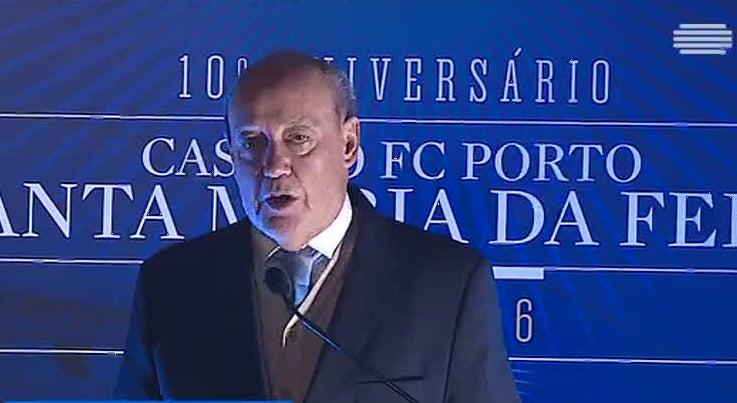 Pinto da Costa afirma que o FC Porto está na luta pelo campeonato