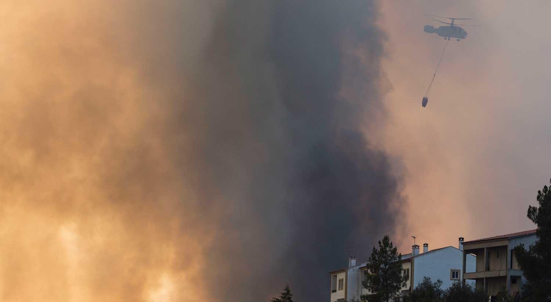 Piloto morre após queda de helicóptero em Castro Daire