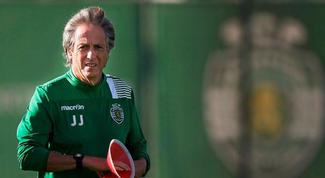 Futebol Nacional - Jesus e os avisos sobre a �poca passada no jogo com o Tondela