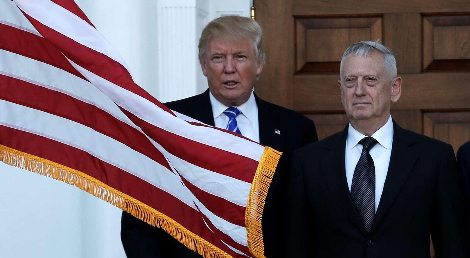 Trump anuncia Mad Dog Mattis para a Defesa