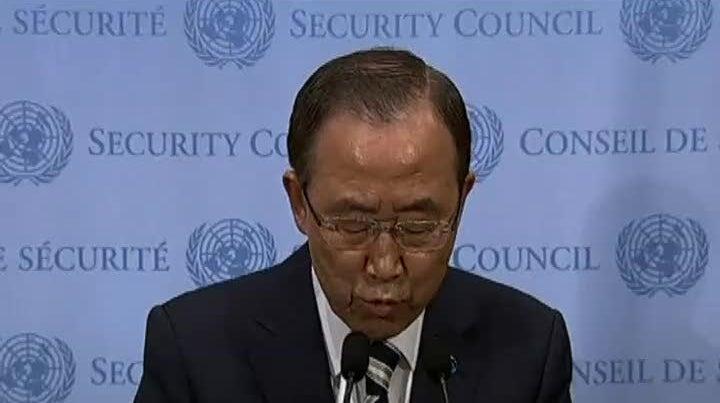 ONU quer apurar responsabilidades na utiliza��o de armas qu�micas na S�ria