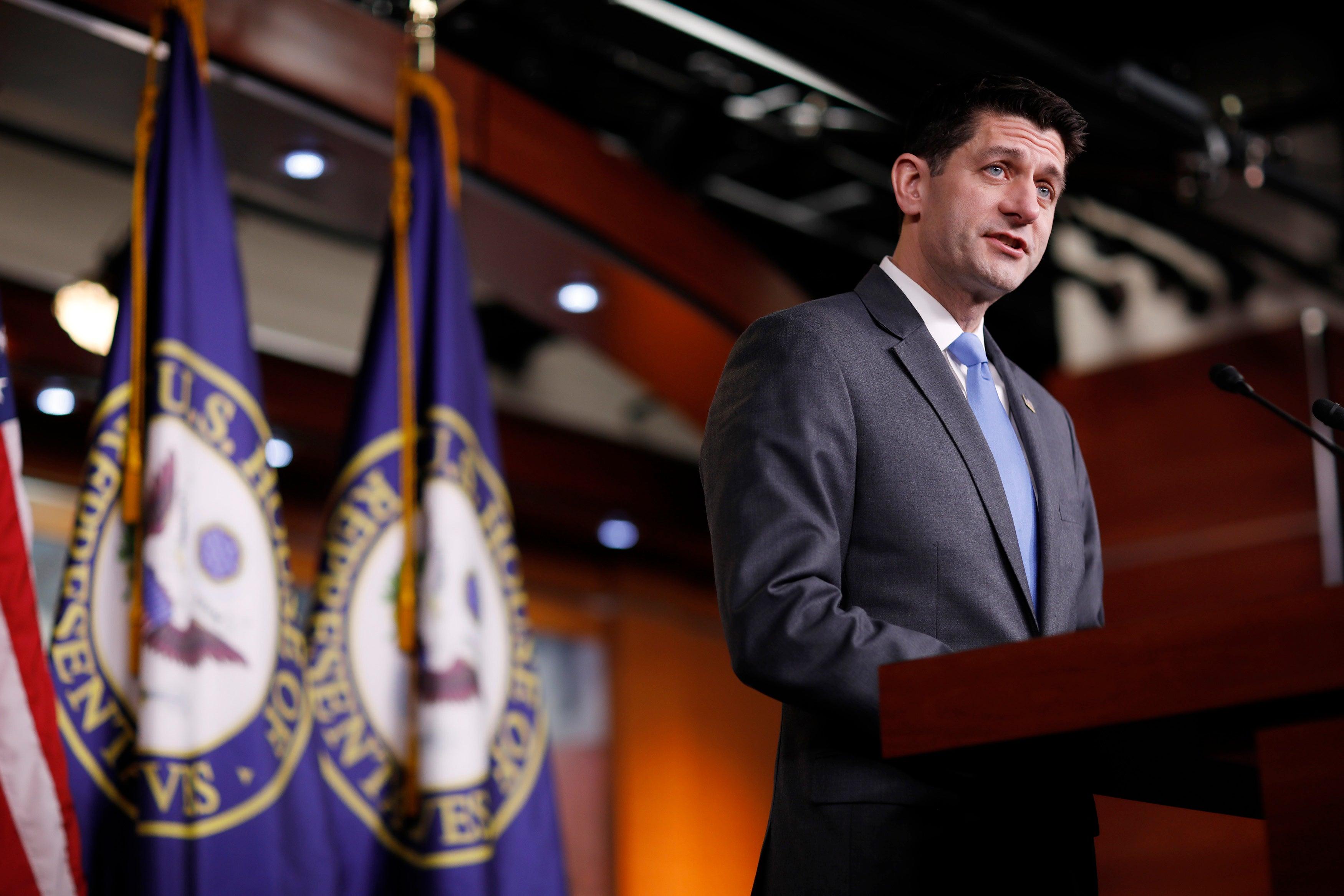 Paul Ryan não tentará reeleição na Câmara Baixa dos EUA