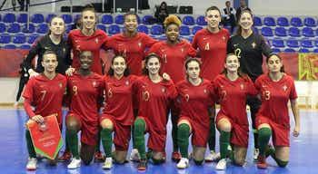 Portugal procura chegar à final do Europeu de futsal feminino 4494a42c56ab0