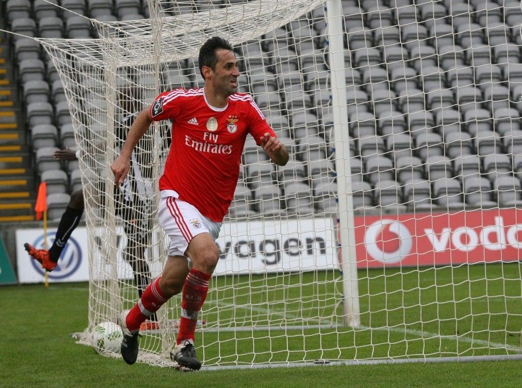 Jonas, do Benfica, eleito melhor jogador da Liga em outubro e novembro