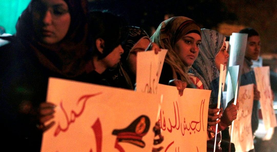 Temos muito menos liberdade agora do que nos tempos de Mubarak