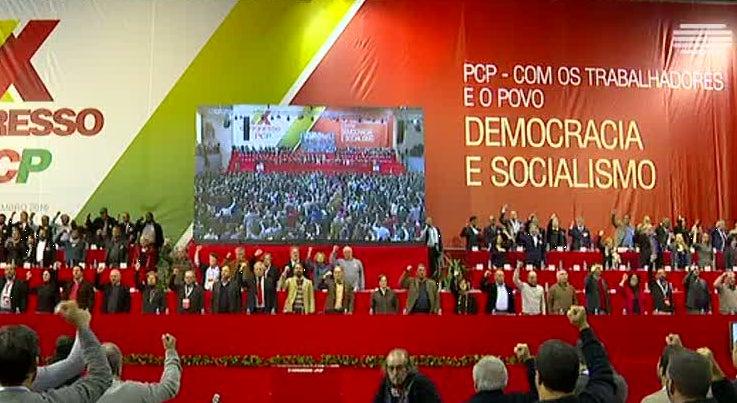 Política - Reunião magna do PCP tem organização rigorosa