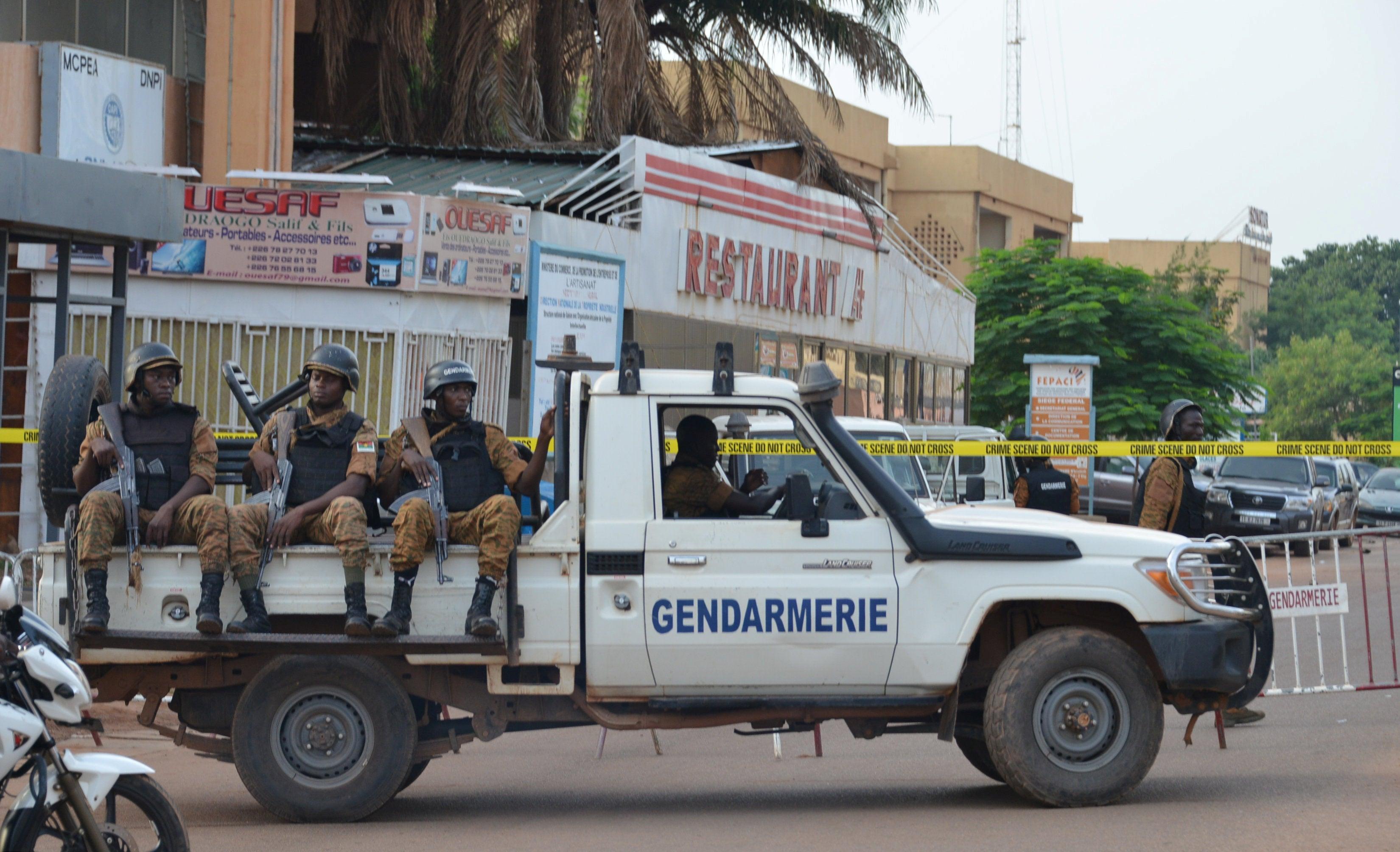 Região diplomática da capital de Burkina Faso é atacada