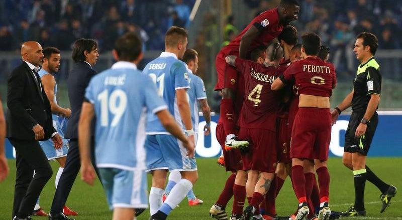 Roma e AC Milan continuam a quatro pontos da Juventus