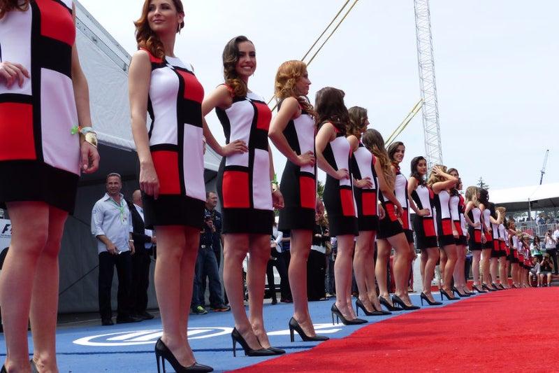Grid Girls do Mundial 2011-2015