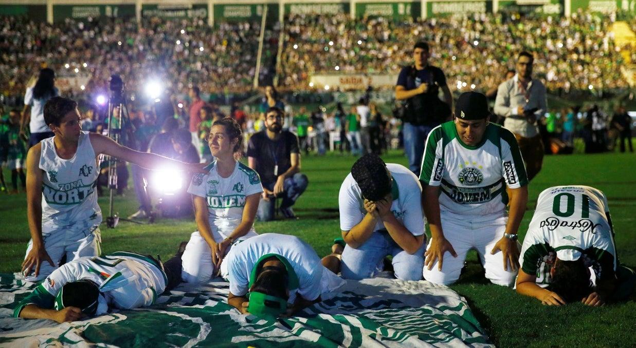 Brasileiros revoltados com dados do voo do Chapecoense