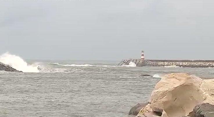 Buscas por pescador ainda desaparecido na Figueira da Foz foram interrompidas por causa do mau tempo