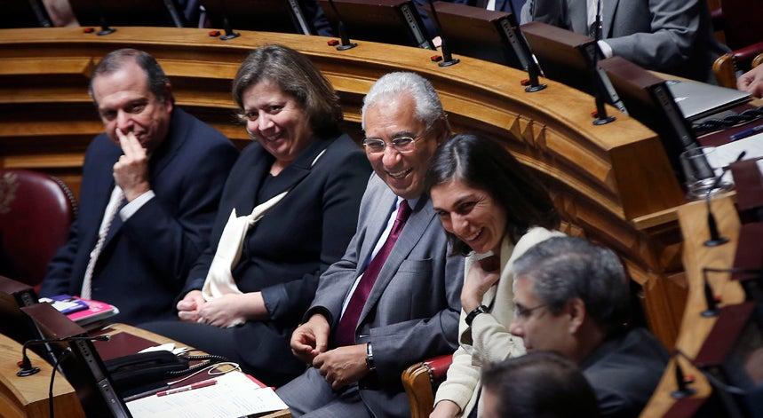 Costa leva 21 deputados para o XXI Governo Constitucional
