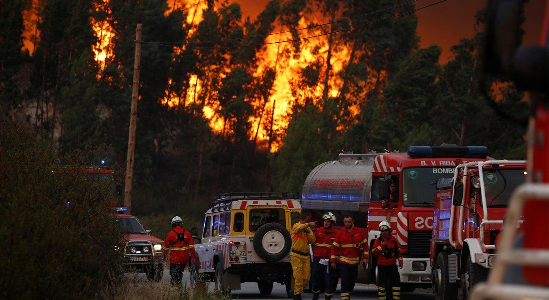 Incêndio em Albergaria obriga ao corte da A1