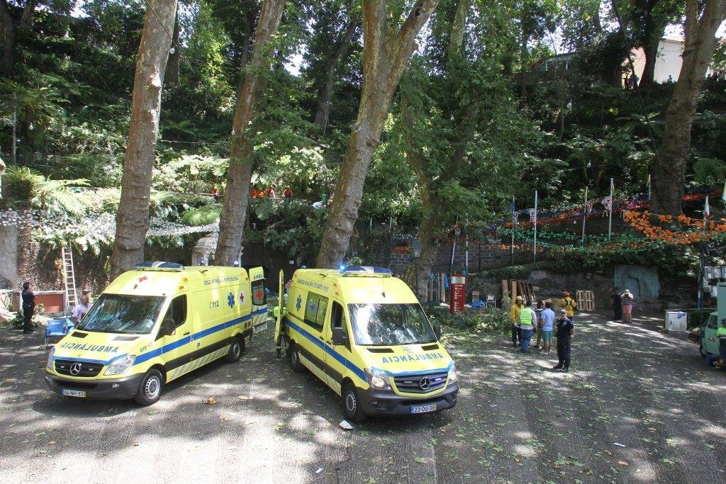 Um ferido teve alta, seis continuam internados — Madeira