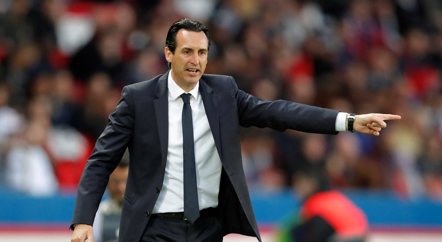Presidente do Paris Saint-Germain garante treinador Unai Emery a 200 por cento