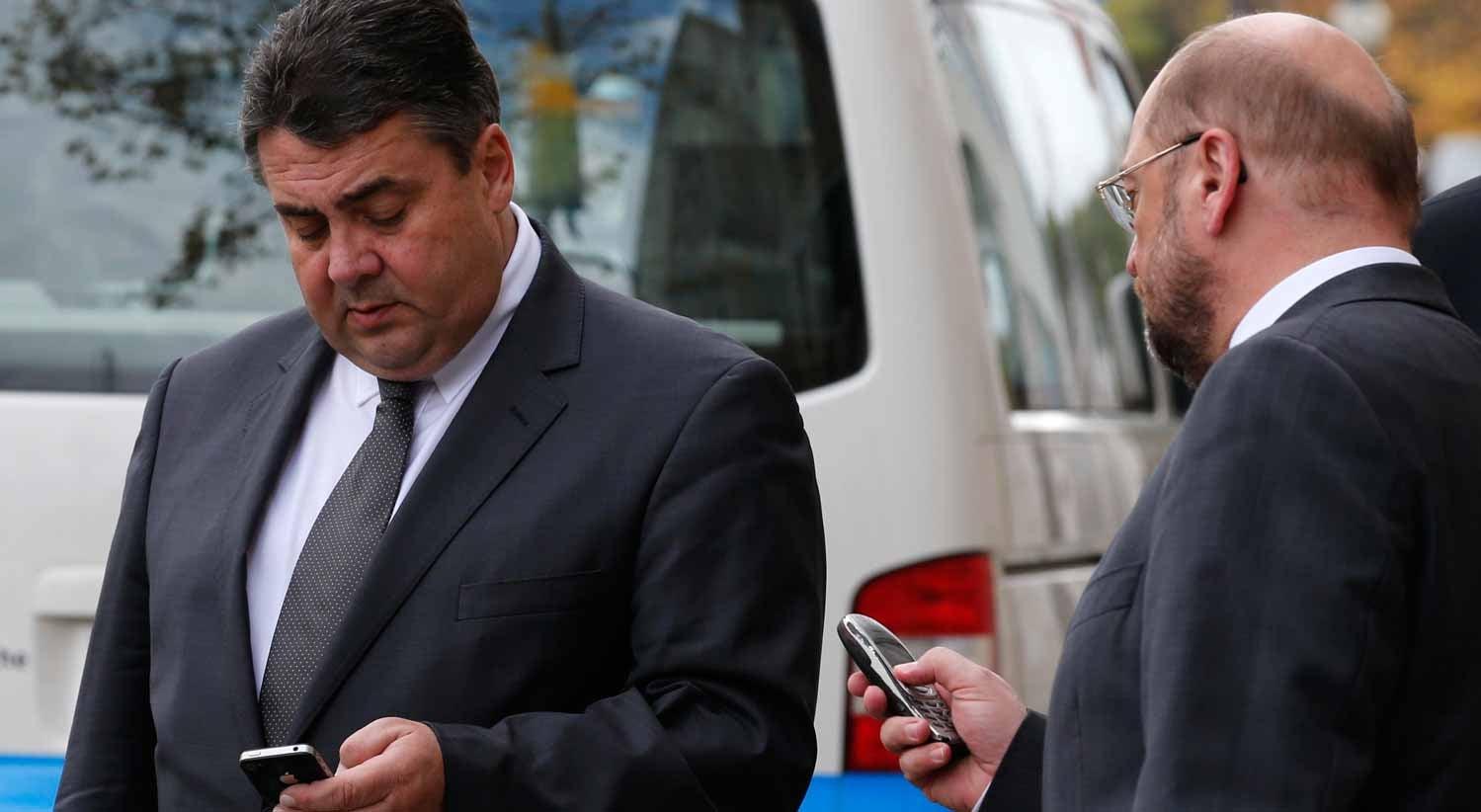Gabriel não enfrenta Merkel e abre o caminho a Schulz