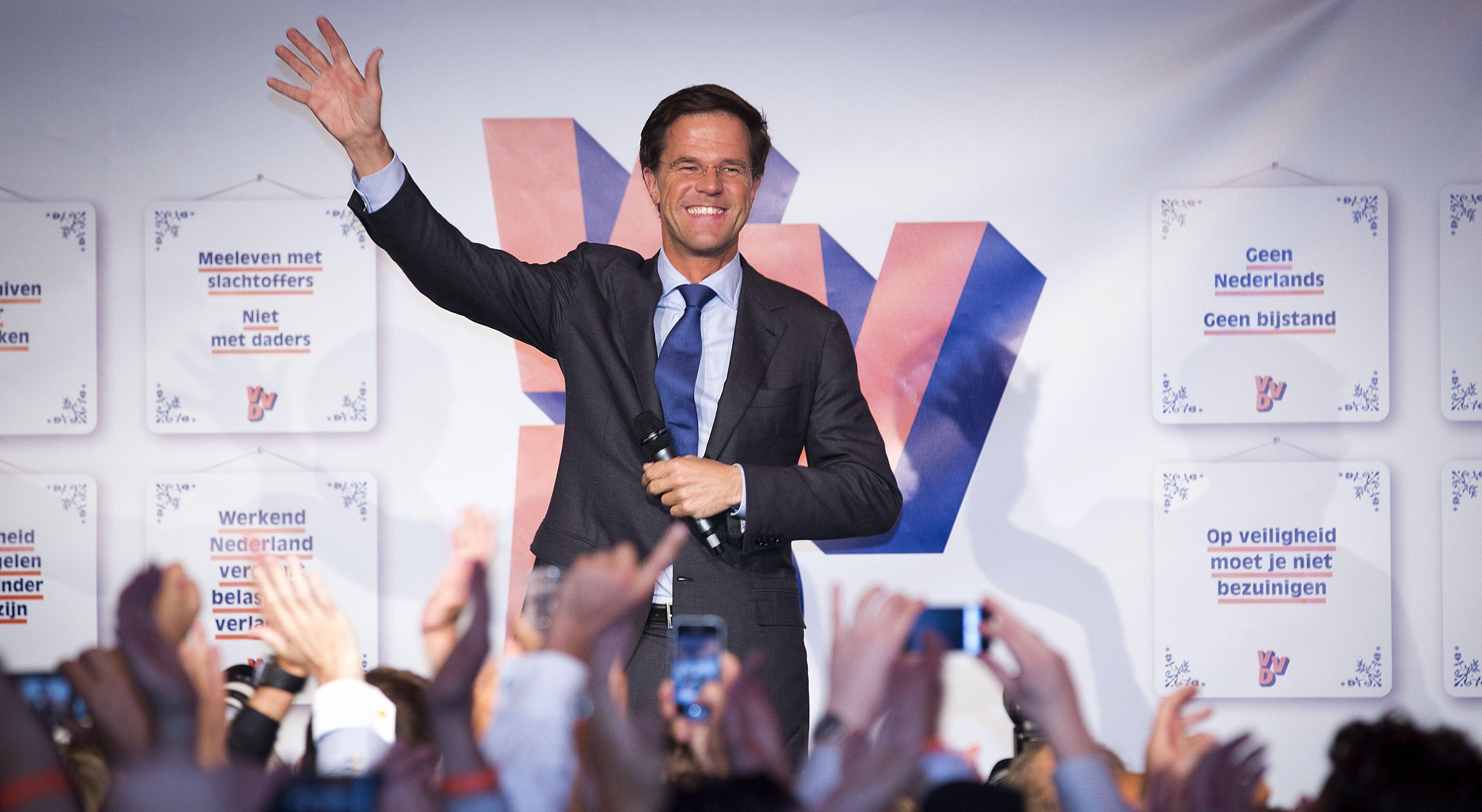 Resultado de imagem para Vitória de Mark Rutte na Holanda causa alívio na Europa