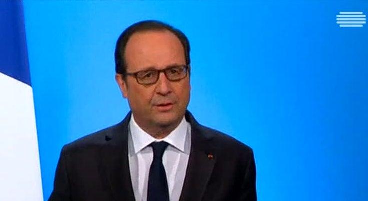 Mundo - Hollande vai sair de cena no fim do primeiro mandato