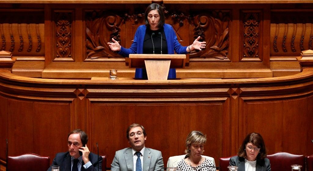 Pol�tica - Ana Catarina Mendes convencida de que BE e PCP est�o a favor dos compromissos europeus