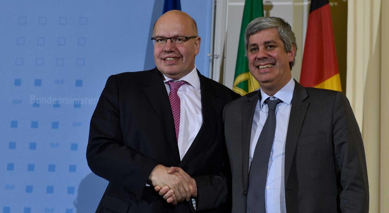 Ministro alemão das Finanças confiante na presidência de Centeno