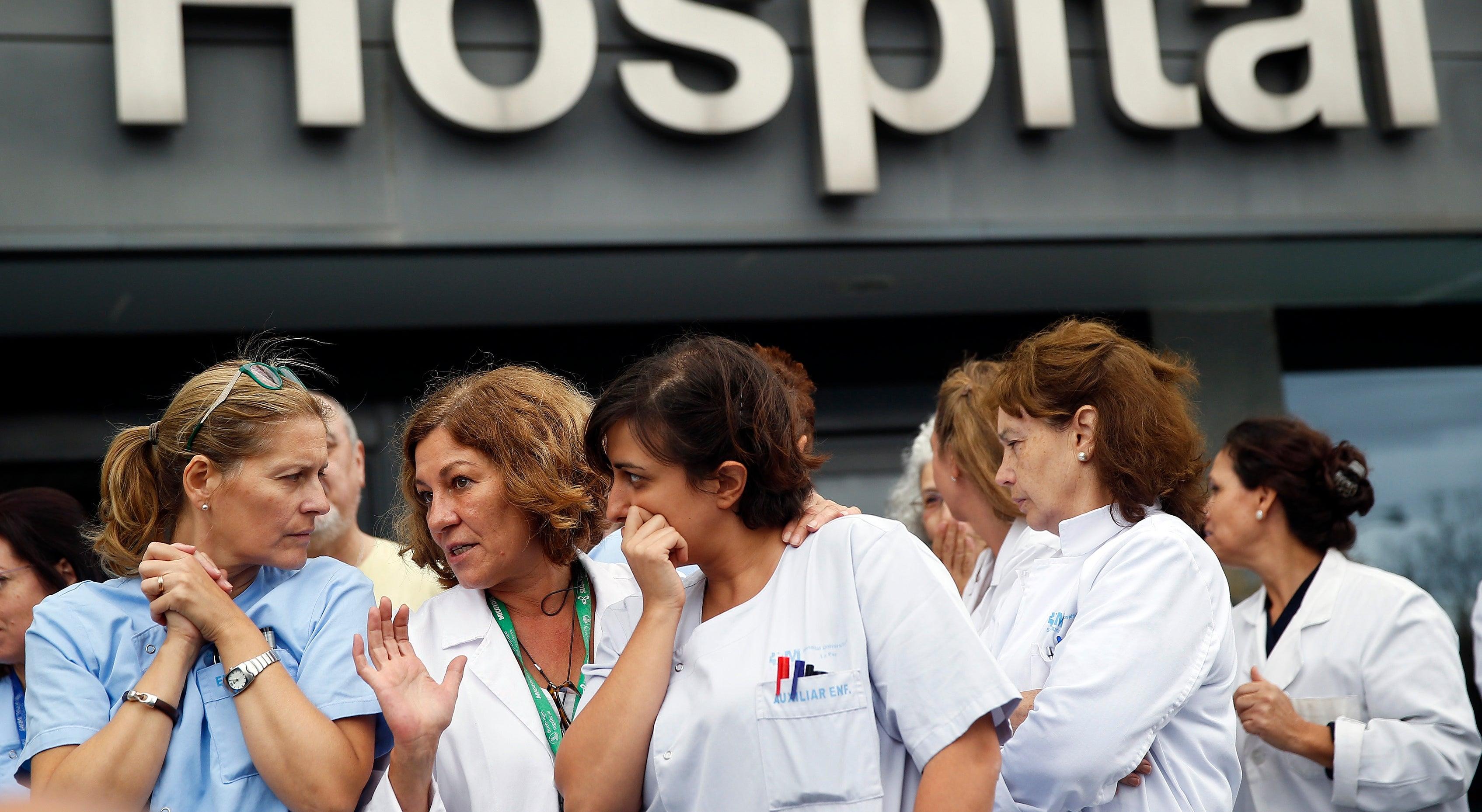 Ébola provoca pânico entre os profissionais do Hospital Carlos III