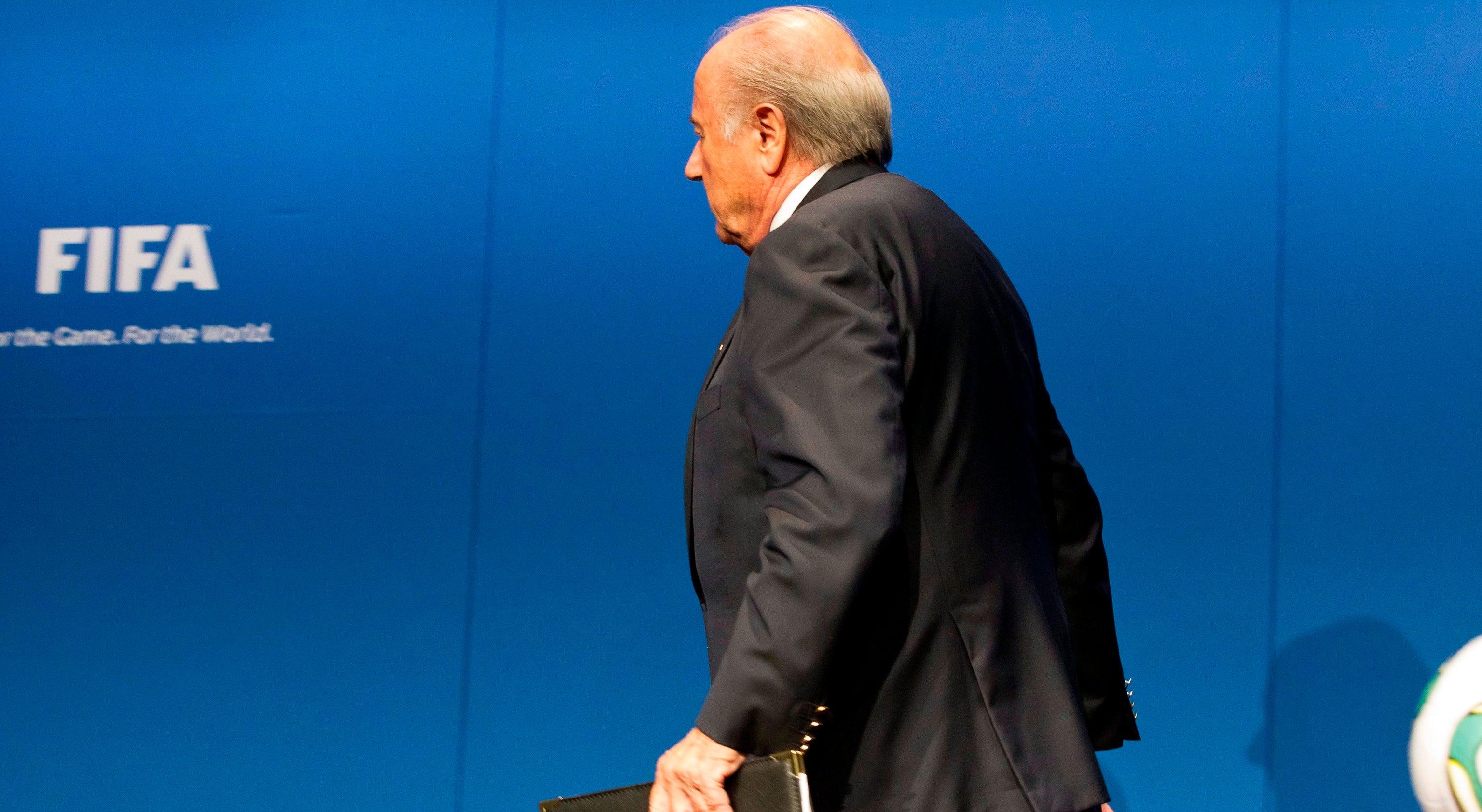 Blatter prestes a saber resultado do recurso