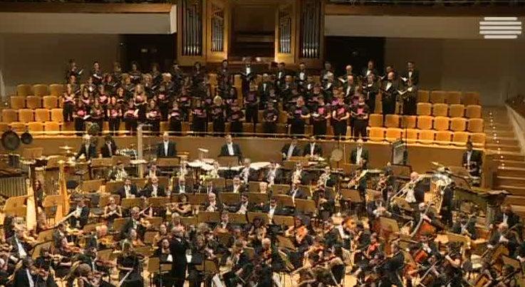Orquestra Sinf�nica do Porto Casa da M�sica atuou em Madrid