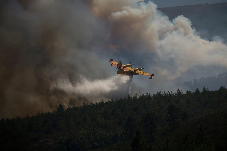 Incêndios em Pedrógão Grande e Góis ainda por dominar