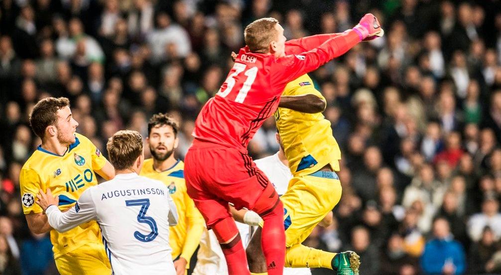FC Porto empatou a zero com o Copenhaga