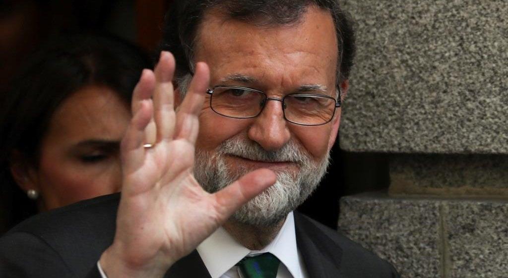 Rajoy despede-se do Partido Popular entre aplausos