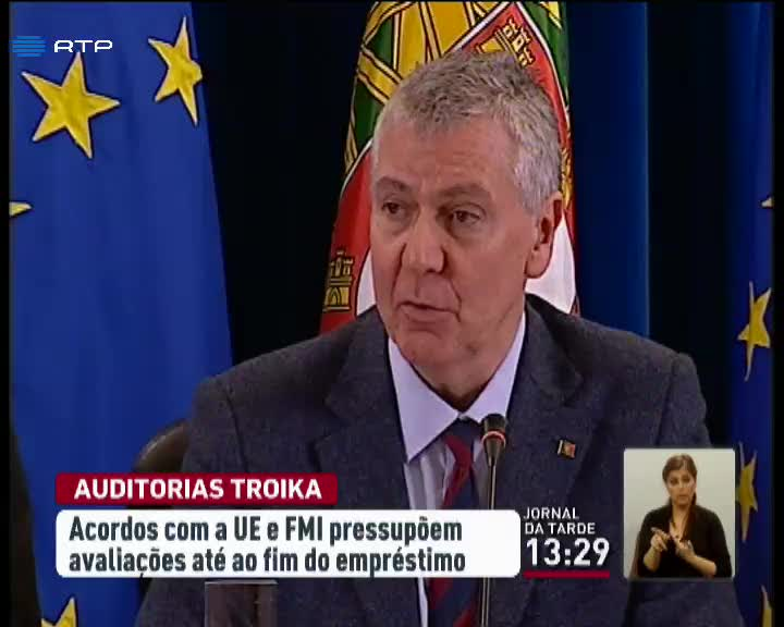 Nova troika em modo de vigil�ncia refor�ada fica at� 2038