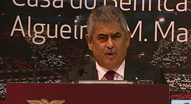 Lu�s Filipe Vieira vai defender interesses do Benfica nos locais pr�prios