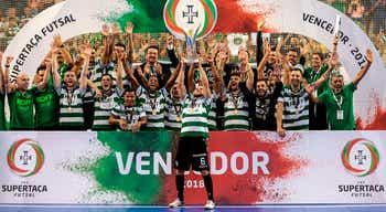 Desporto rtp notcias sporting conquista supertaa de futsal pela oitava vez ao golear fabril stopboris Images