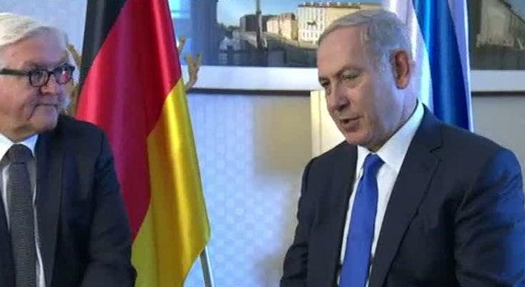 Mundo - Israel quer expulsar UE de negocia��es de Paz com palestinianos