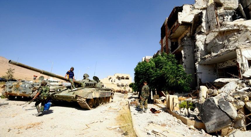 S�ria lan�a grande ofensiva militar terrestre com apoio da R�ssia