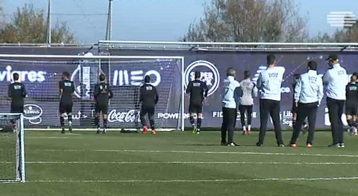 Liga dos Campeões - Porto treina sem Otávio e Sérgio Oliveira