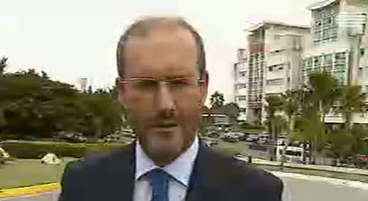 Marcelo re�ne-se com Fidel