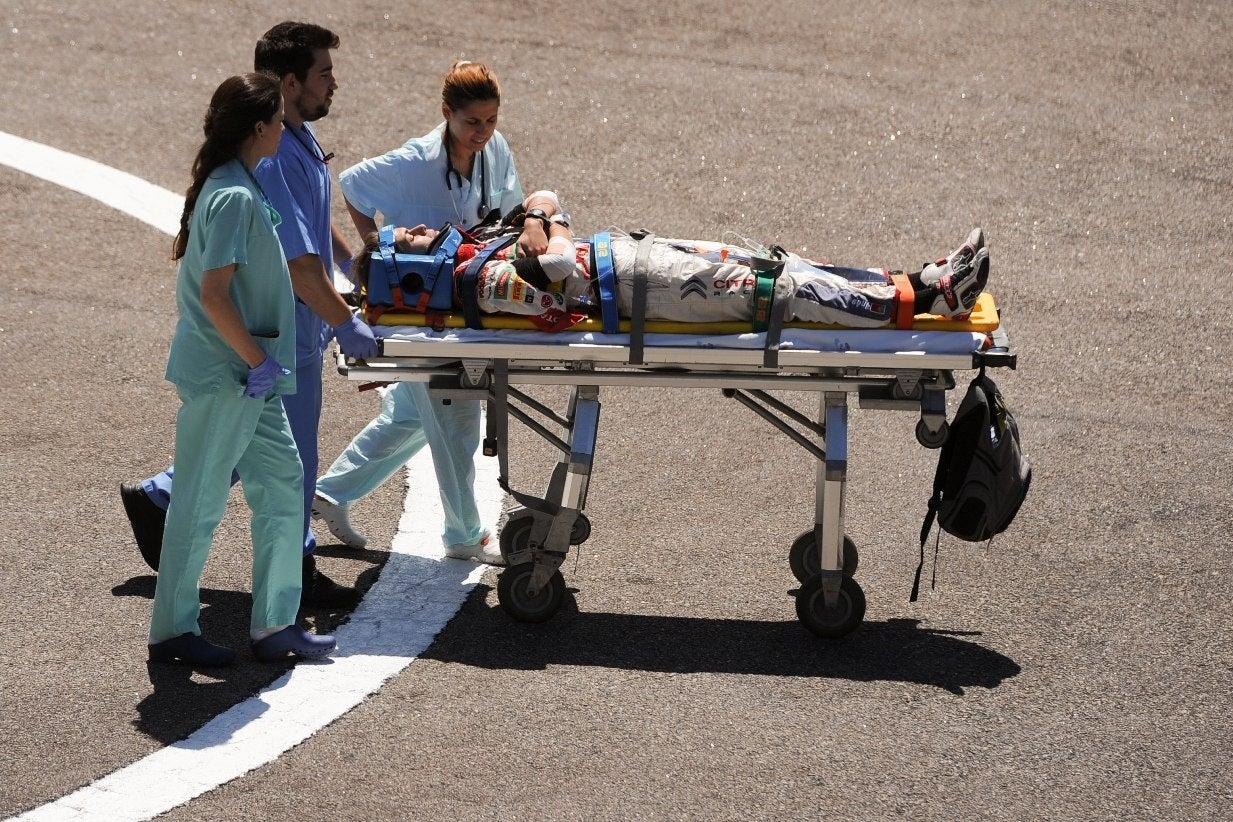 Rali de Portugal interrompido. Piloto e navegadora no hospital