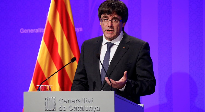 Presidente do governo da Catalunha não vai ao Senado espanhol