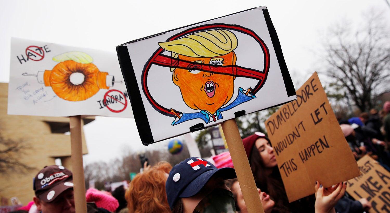 Mundo protesta contra Trump