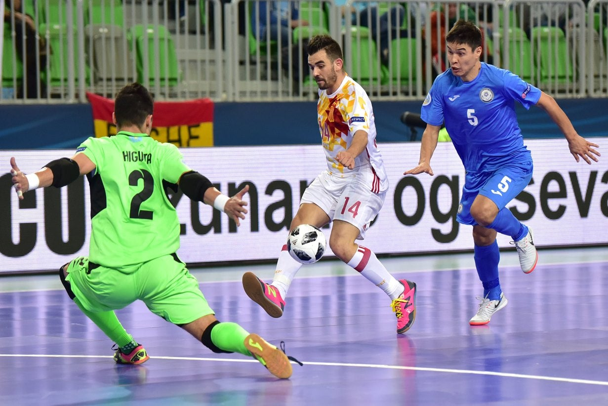 Portugal bate Rússia e está na Final do Europeu de Futsal