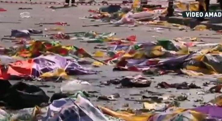 Subiu para 86 o n�mero de mortos na Turquia