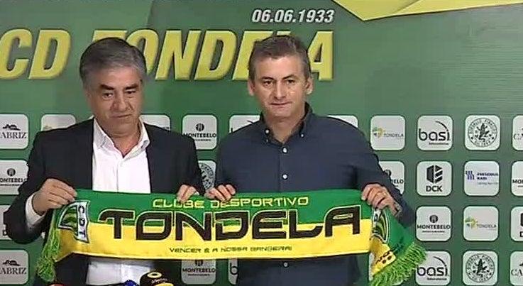 Rui Bento � o novo treinador do Tondela