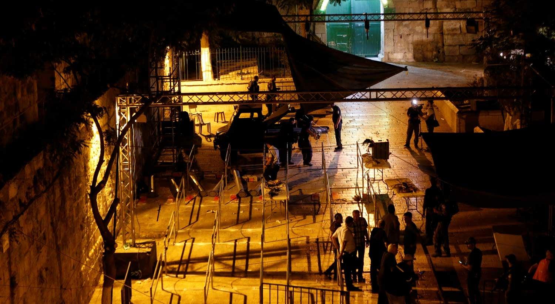 Israel retira detectores de metais em entrada da Mesquita de Al-Aqsa
