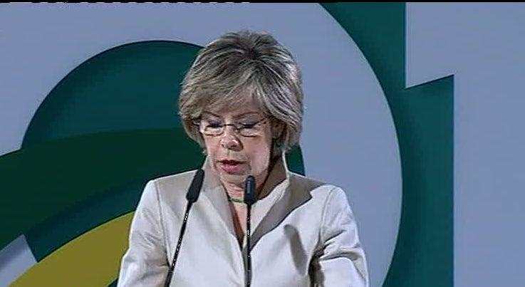 Maria de Bel�m apresentou a candidatura a Presidente da Rep�blica